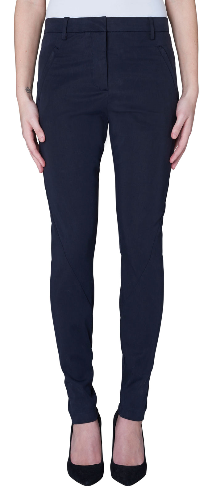 Five Units Angelie Pant in Horizontal Navy