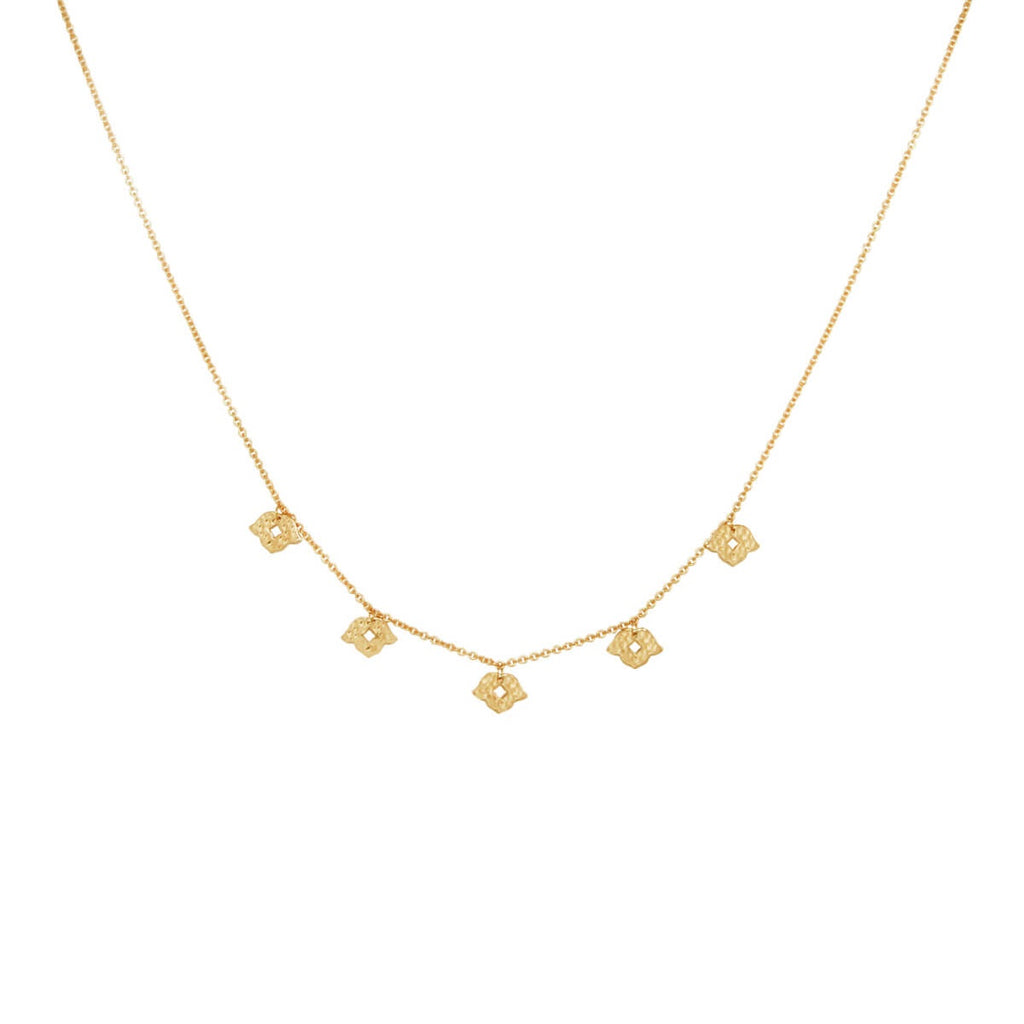 Murkani Beleza Choker Necklace - Gold