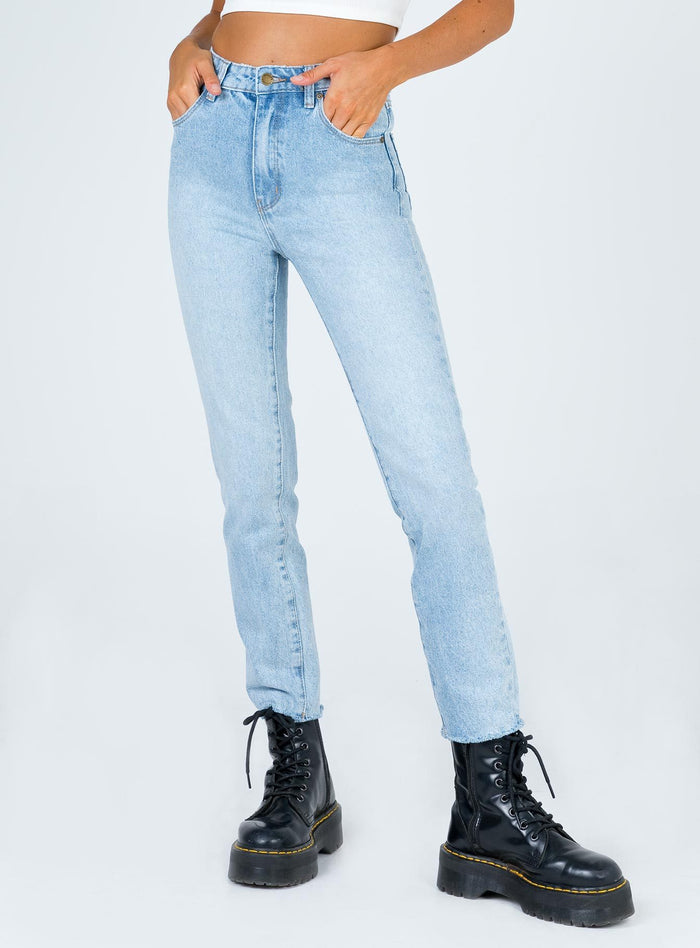 Rollas Dusters Old Stone Wash Jean