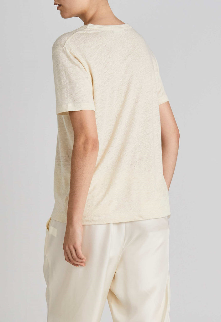 Jac and Jack Columbia Tee - Lemon