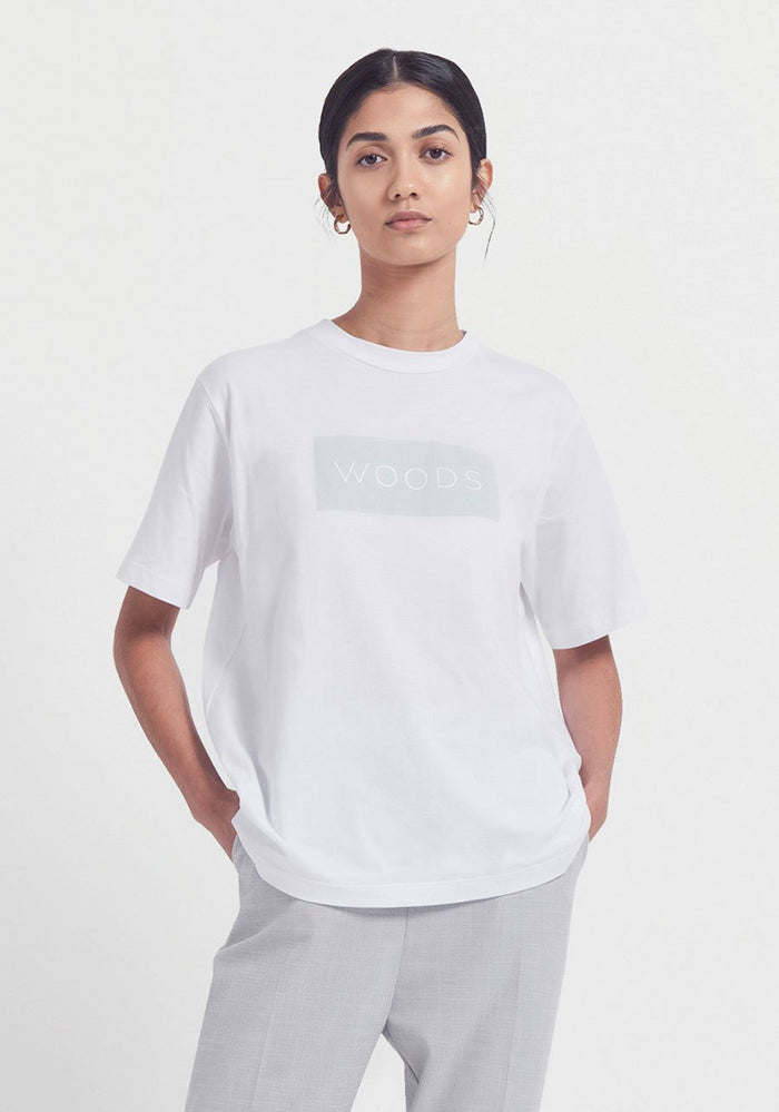 Viktoria & Woods Woods Tee White Grey
