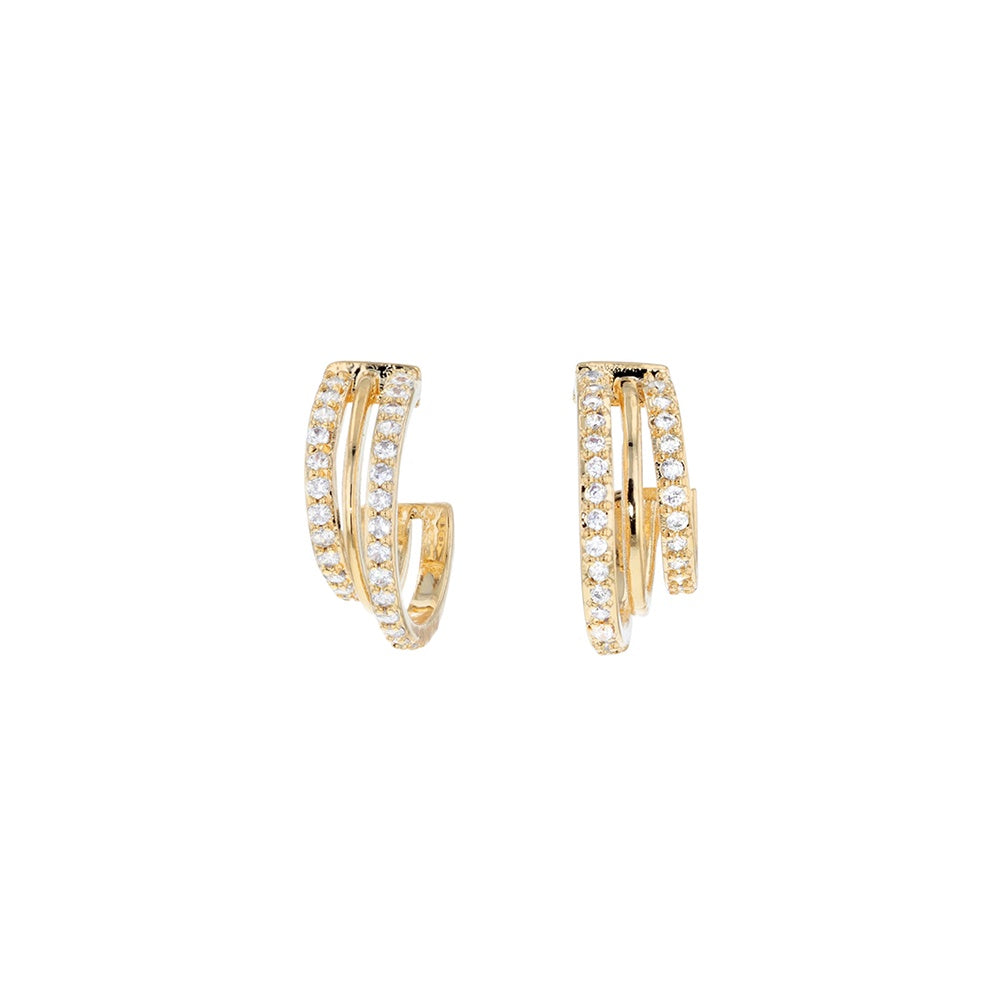 Jolie & Deen Natalia Earrings Gold