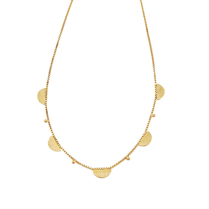 Jolie & Deen Annabel Necklace Gold