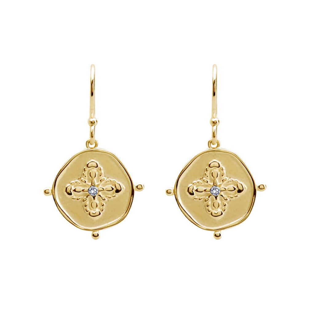 Murkani Sahara Small Earrings - Gold