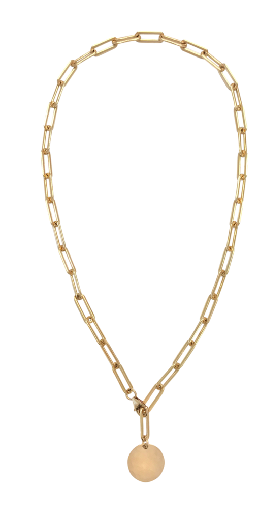 Misuzi Heavy Chain Adjustable Choker Gold