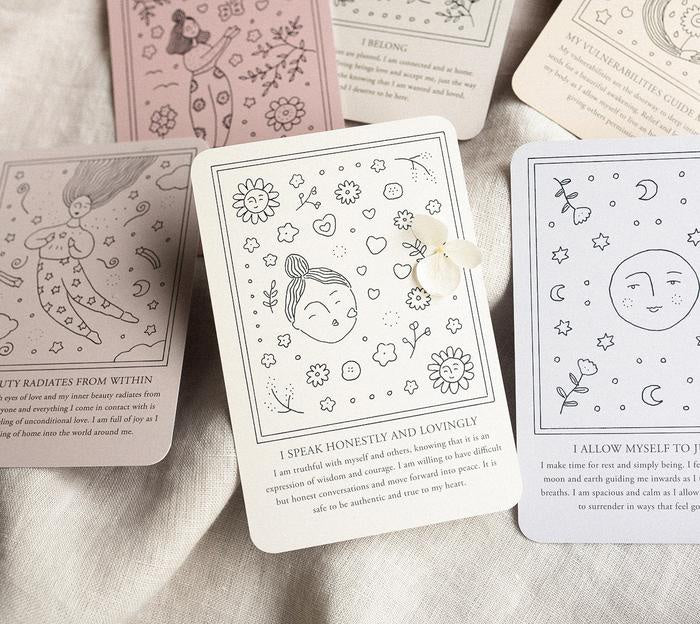 Musings From The Moon Self-Love Affirmation Cards