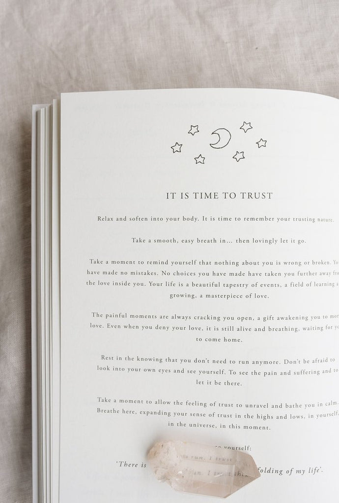 Musings From the Moon 'A Year of Coming Home' Guided Self-Love Journal