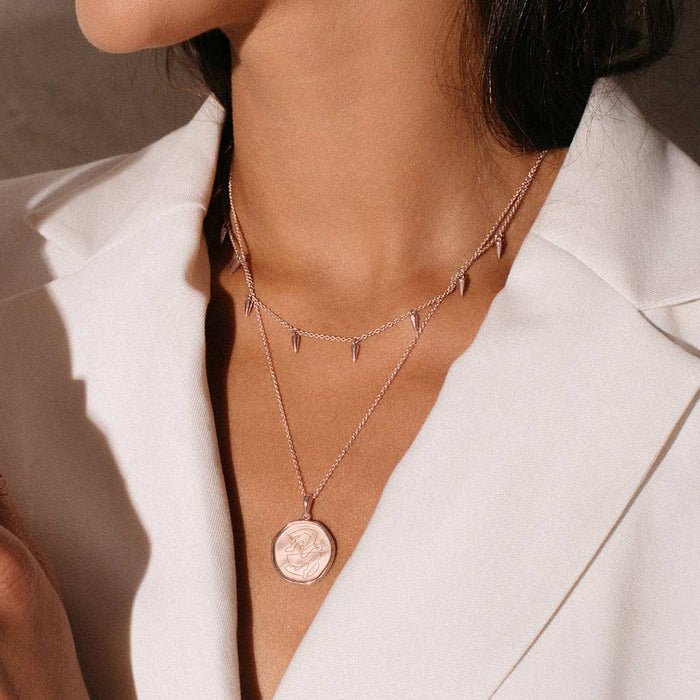 Murkani Empowerment Necklace Rose Gold