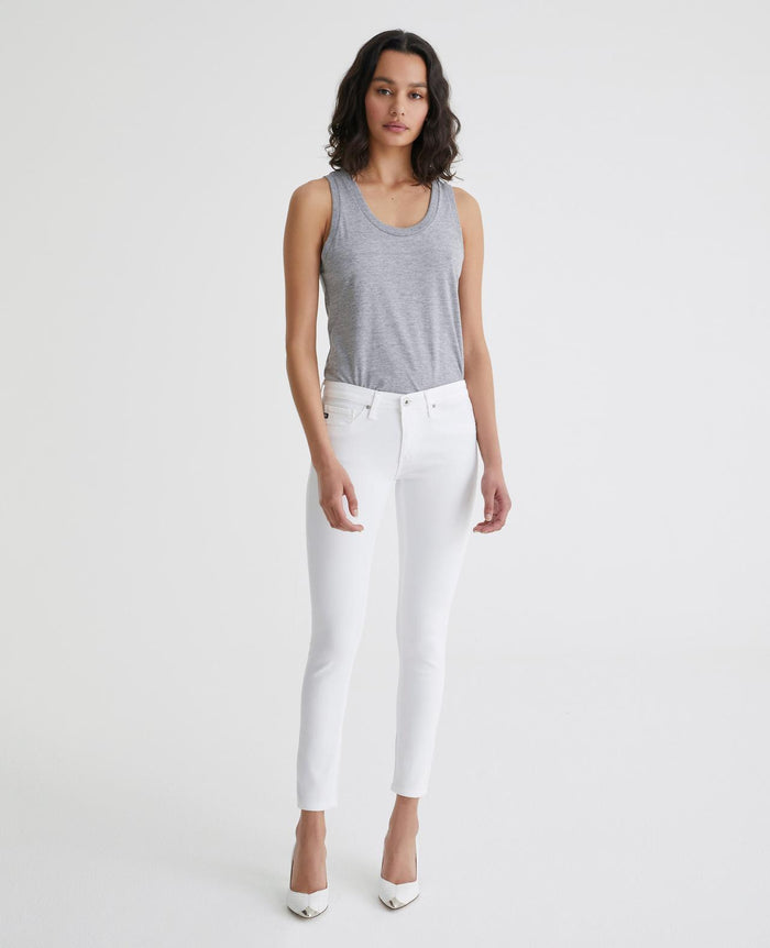 AG The Legging Ankle - White