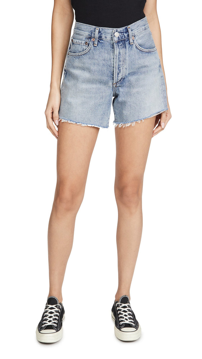 Agolde Reese Relaxed Cut Off Shorts Wonder