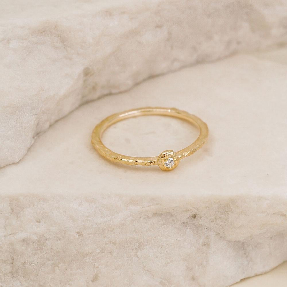 By Charlotte Gold Guiding Light Ring