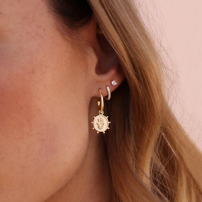 Murkani Protect Earrings Gold