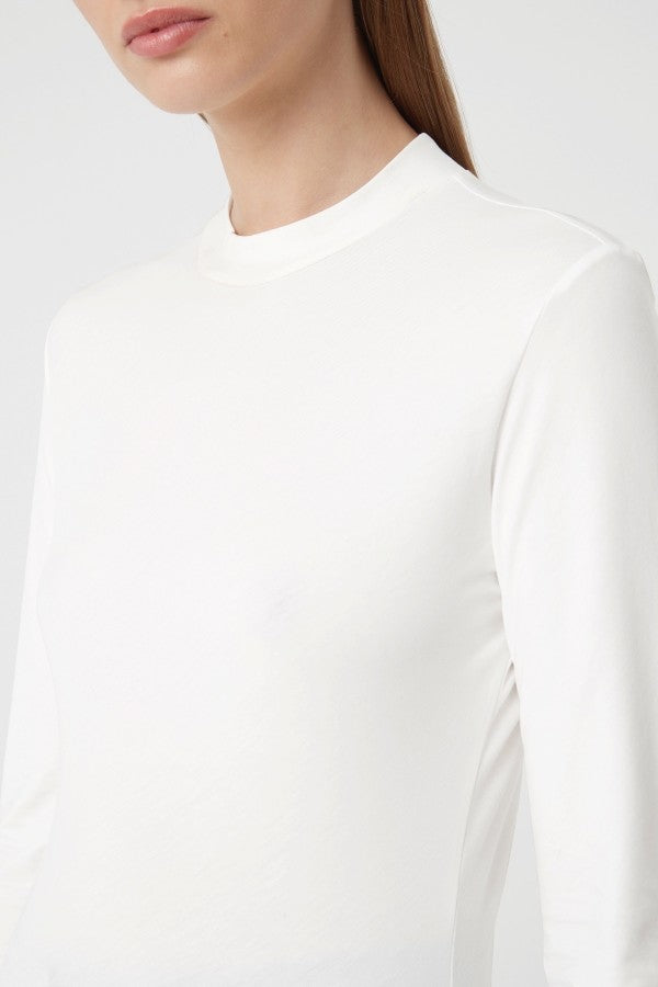 C&M Suki Long Sleeve Tee - White