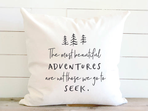 Beautiful Adventures Pillow