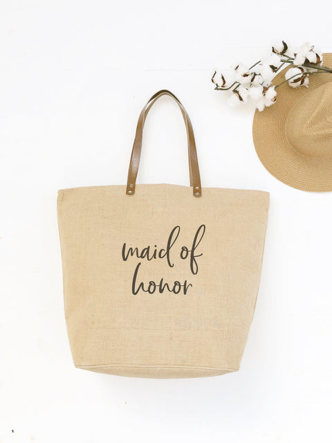 Kelly Font Maid of Honor Tote Bag