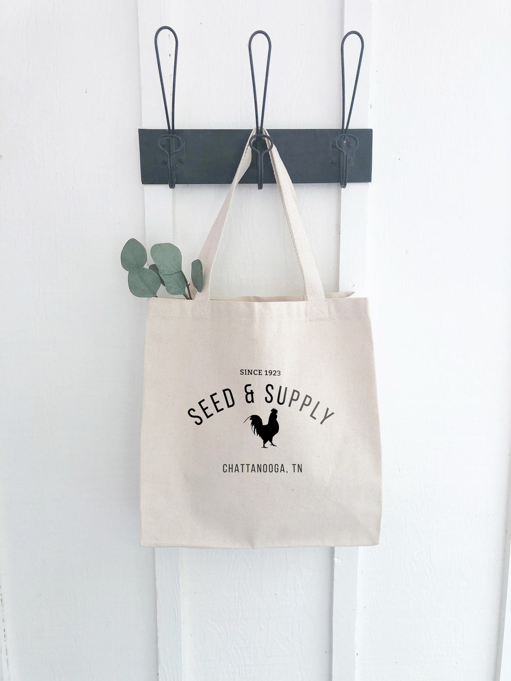 Seed & Supply Canvas Market Tote Bag