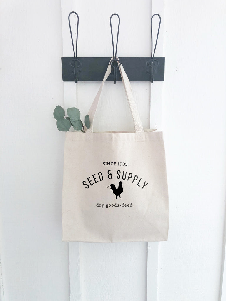 Seed & Supply Dry Goods Canvas Tote Bag