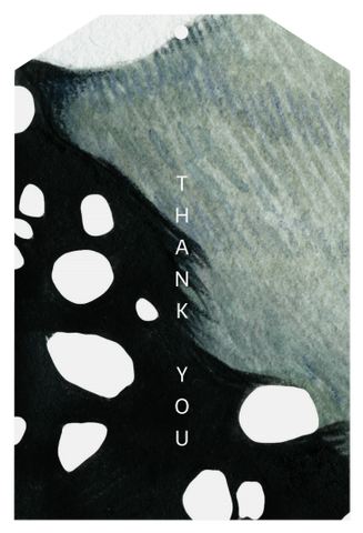 Father Rabbit Stationery | Gift Tag | Abstract Thank You