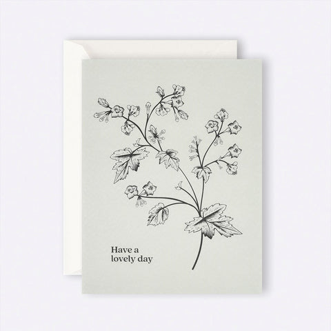 Father Rabbit Stationery | Card | Green Have a lovely day