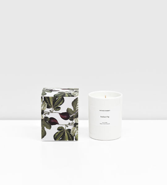 Father Rabbit | Soy Scented Candle | Italian Fig