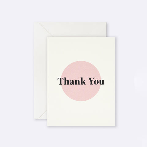 Lettuce | Card | Thank You Pink Dot