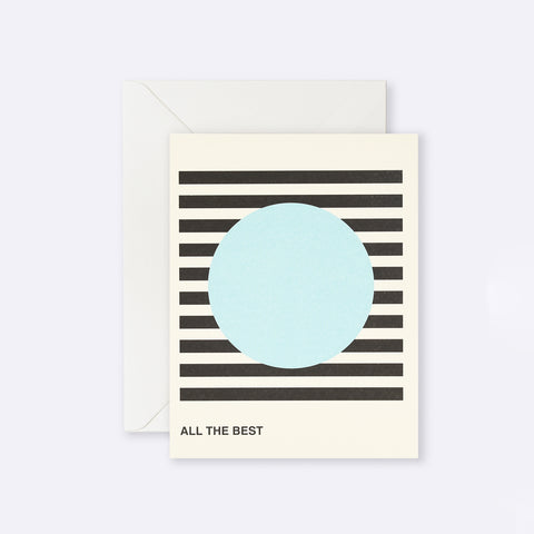 Lettuce | Card | All The Best Blue Circle