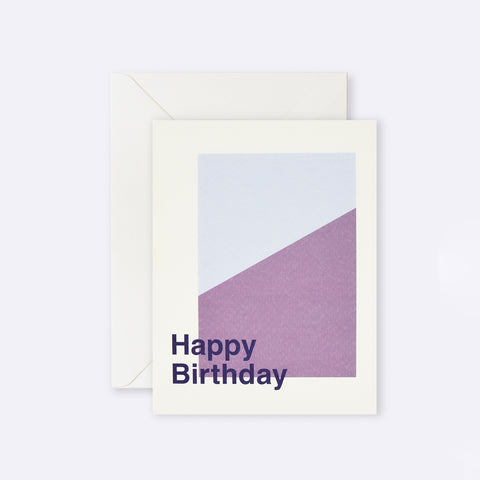 Lettuce | Card | Happy Birthday Mauve Angle