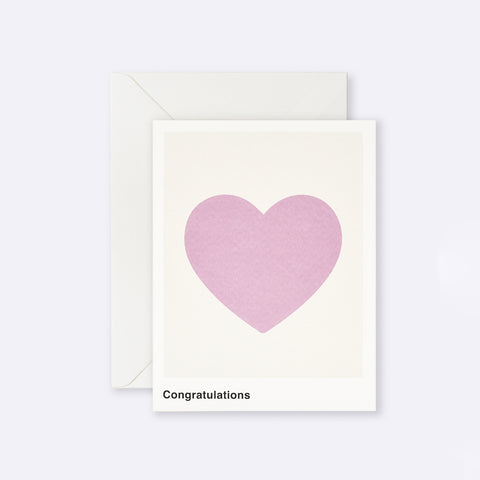 Lettuce | Card | Congratulations Heart