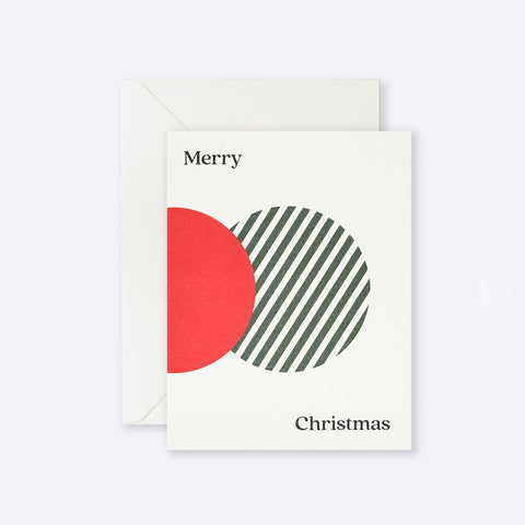 Lettuce | Card | Merry Christmas Dots