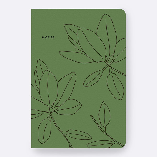 Father Rabbit Stationery | Notebook | Green Leaves