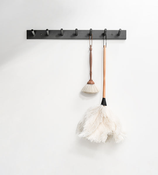 Father Rabbit Goods | PEG HOOK LARGE 900 mm Charcoal