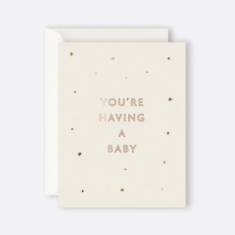 Father Rabbit Stationery | STARRY YOU'RE HAVING A BABY