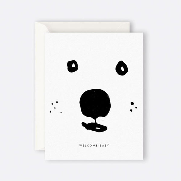 Father Rabbit Stationery | Card | WELCOME BABY BEAR