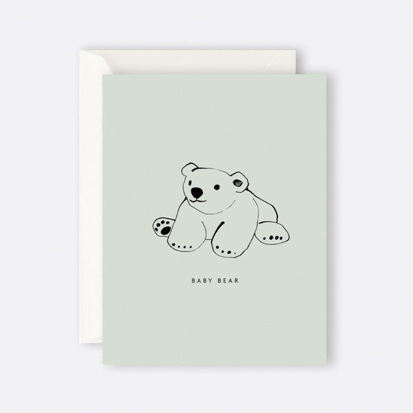 Father Rabbit Stationery | Card | BABY BEAR
