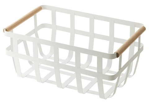 Yamazaki | Tosca Storage Basket | Double Handle