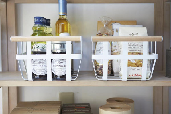 Yamazaki | Tosca Storage Basket | Single Handle