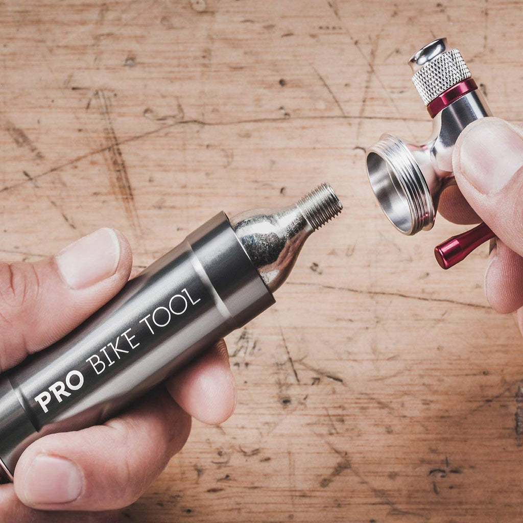 ebb10b69d26 Pro Bike Tool CO2 Inflator with Cartridge Storage Canister – All ...