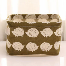 Cute Foldable Storage Container Organizer Fabric