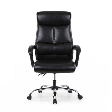 Adjustable Ergonomic PU Leather Executive Office Chair Recliner Luxury High Back Computer Desk Chair Managerial Chair