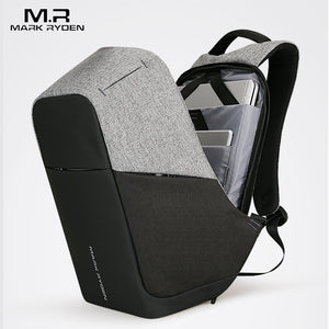 Multifunction USB charging Men 15inch Laptop Backpacks For Teenager Fashion Male Mochila Leisure Travel backpack anti thief