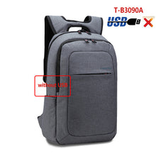 2018 Tigernu Canvas Men's Backpack Bag Brand 15.6 Inch Laptop Notebook Mochila for Men Waterproof Back Pack school backpack bag