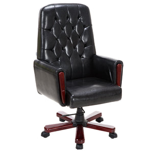 Giantex Modern High Back PU Leather Office Chair Swivel Adjustable