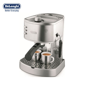 household Italian Stainless steel Pump press Semi-automatic Coffee machine Office