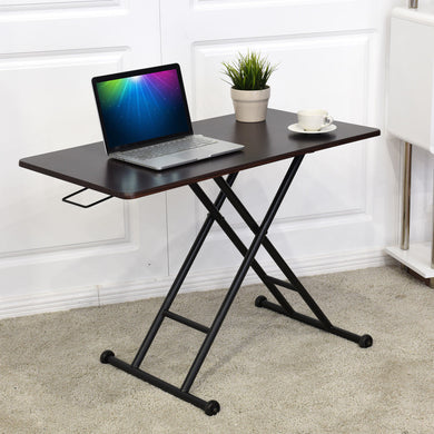 Giantex Height Adjustable Standing Desk Converter Sit-Stand Computer Laptop Workstation