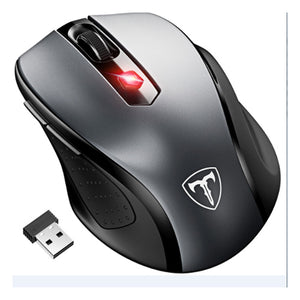 VicTsing Wireless Mouse Portable  2.4G with USB Receiver 5 Adjustable DPI Level 6 Buttons for Laptop PC