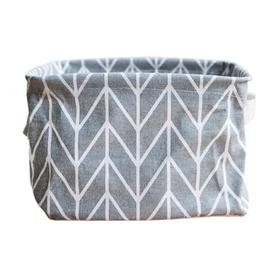 Retro Foldable Cloth Storage Bin