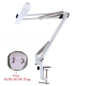 USB Power LED Office Desk Lamp Swing Arm Adjustable Table Light