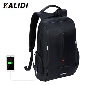 KALIDI Waterproof Laptop Bag 15.6 -17.3 inch for Women Men Notebook Bag 17 inch Computer Bag USB for Macbook Air Pro 17 Dell HP