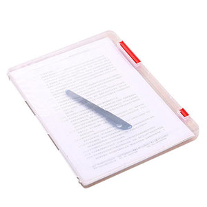 Office Table Document File Holder Case Transparent