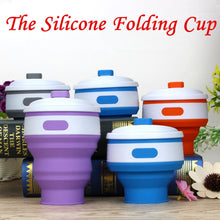 2018 New Arrival Fashion 300ML Collapsible Silicone Coffee Cup Reusable Travel Foldable Leak Proof With High Quality Hot #35
